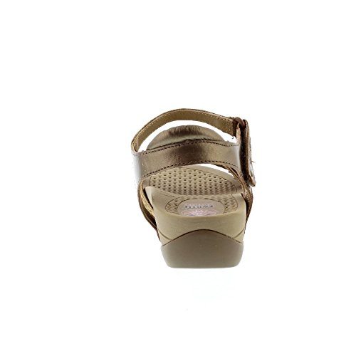 Pittsburgh Damen Weiß Earth Spirit Metallic Sandalen Leder 8gHPwP5q
