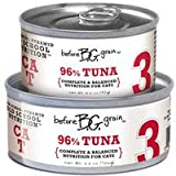 """Before Grain Tuna Formula Canned Cat Food """"3"""" (24/3.2-oz cans), My Pet Supplies"""