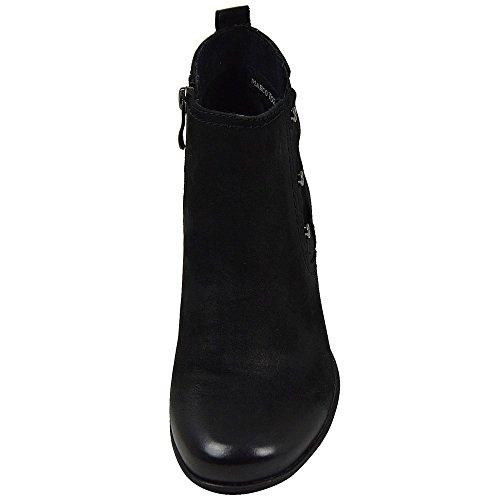 Marco Tozzi 2-25001-25 Klassische Damen Stiefeletten Black Antik (Schwarz) black antik (schwarz)