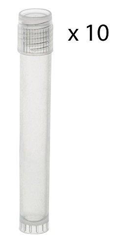 Storage Vials - 5ml - Polypropylene Plastic - Screw Top - Pack of 10