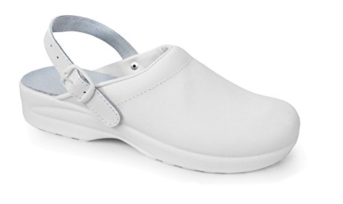 De Adultos Blanco Medical Unisex Pls Zapatos Correa Con Tobillo 8nIddA6qY