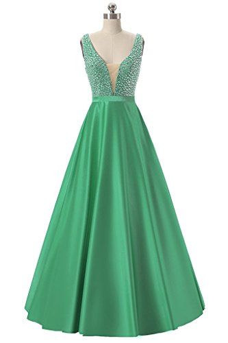Ysmo - Vestido - trapecio - para mujer Verde