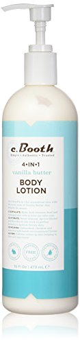 Body And Lotion Hydrating Multi Hand (c.Booth 4-in-1 Multi-Action Vanilla Butter Body Lotion, 16 Fluid Ounce)