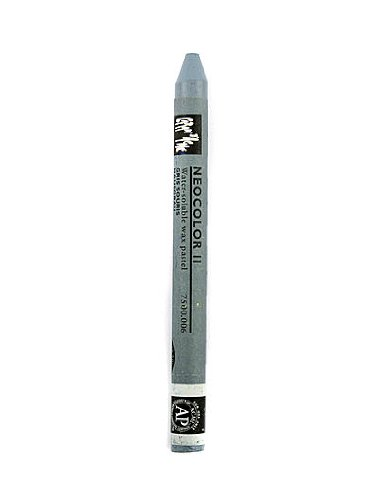 Aquarelle Water Soluble Wax Pastels - Caran d'Ache Neocolor II Aquarelle Water Soluble Wax Pastels mouse gray [PACK OF 10 ]