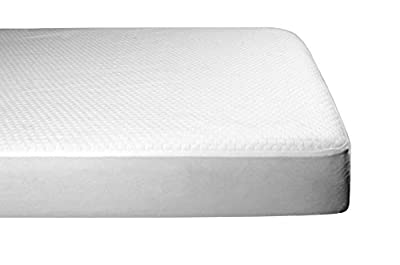 BeautySleep Mattress Pad Size Water Resistant & Hypoallergenic - Antibacterial, Breathable, Allergen Barrier - Ultra Soft Quilted Mattress Protector, Fitted Sheet Mattress Cover Topper White