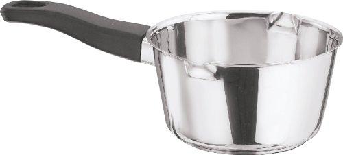 Vinod Cookware American Sauce Pan Silver 1.3 Litres (Milk Tea Pan)