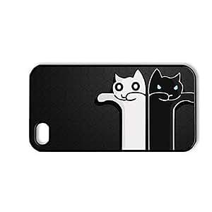 Zombie Cats Patrón de plástico duro caso para iPhone 4/4S