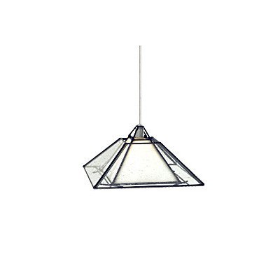 Tech Lighting (700FJOAKBWZ) Oak Park Pendant in Antique Bronze with Clear Shade, FreeJack