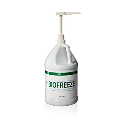 Biofreeze Pain Relief Gel with Pump, Original Green Formula, Pain Reliever