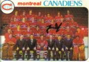 1978 Topps Hockey Card (1978-79) #200 Montreal Canadiens Excellent Montreal Canadiens Collectibles