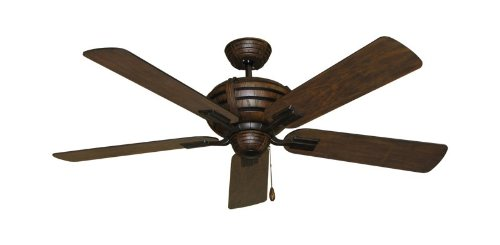 Madeira Mission Style Ceiling Fan with 52