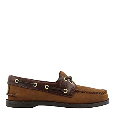 lowest discount retail prices purchase cheap SPERRY Men's Topsider, Authentic Original Boat Shoe Brown Suede 10 WW