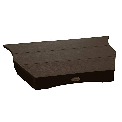 Highwood Adirondack Tete-a-tete Connecting Table, Weathered Acorn ()