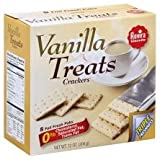 Rovira Export Sodas - Vanilla Treats Crackers (8 foil fresh packs/box) - 9.6 oz Box (Count of 2)