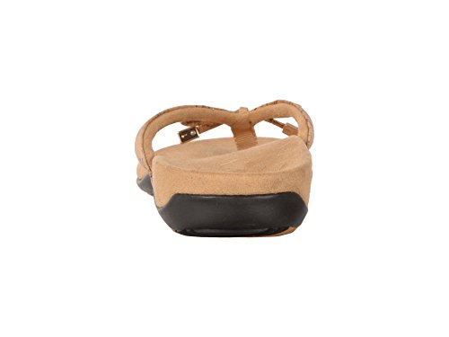 Vionic Women's Bella Toe Post Sandal Denim Gold Cork buy cheap footlocker finishline discount best wholesale cheap sale many kinds of cheap sale outlet nMQEj