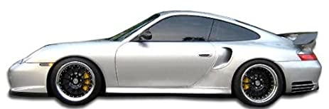 2002-2004 Porsche 996 Turbo C4S Duraflex GT-2 Look Side Skirts - 2