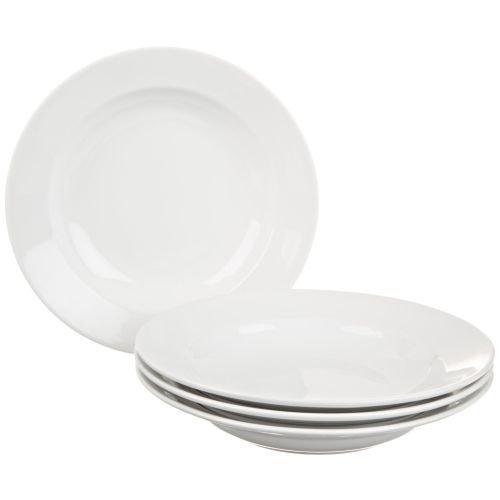 BIA Cordon Bleu Bistro Rim Soup Bowls, Set of 4, White ()
