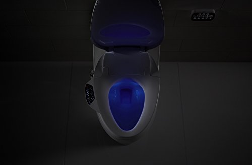 Tremendous Kohler Electric Bidet Toilet Seat Touchscreen Remote Control Heated Seat Automatic Deodorization And Nightlight K 4108 0 White Ncnpc Chair Design For Home Ncnpcorg