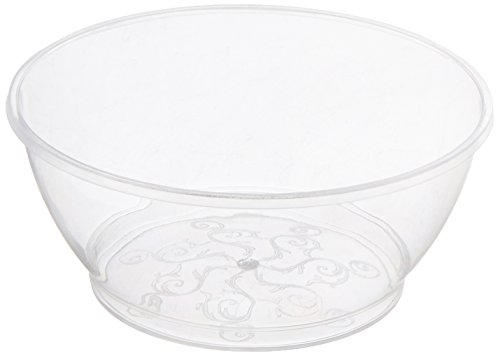 Fineline Settings Savvi Serve Clear 6 oz Plastic Bowl - 1 set - 240 pieces (Bowl Serve)