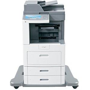 Lexmark X658DFE Laser Multifunction Printer - Monochrome - Plain Paper Print - Desktop - Copier/Fax/Printer/Scanner - 55 ppm Mono Print - 1200 x 1200 dpi Print - 55 cpm Mono Copy - Touchscreen - 600 dpi Optical Scan - Automatic Duplex Print - 1200 sheets