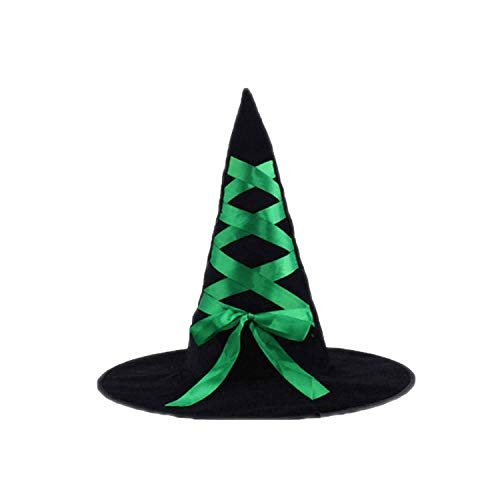 Halloween Witch hat Wicked Witch Cap Party Decoration Halloween Decor Suitable for Children Adult Gift -