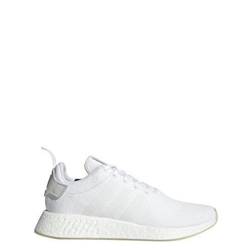 adidas Mens NMD_R2 White/White/White - CQ2401 (8)