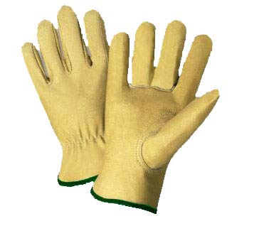 Radnor Medium Natural Select Grain Pigskin Unlined Drivers Gloves (8 Pairs)