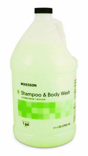 McKesson Performance Shampoo Hair/Body Cucumber Melon Gallon - Model 53-27901 (Conditioner Melon Cucumber)