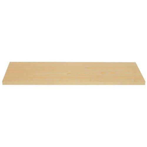 KNAPE & VOGT CO 1980MPL-10X36 10x36 Maple Shelf (Maple Wall Shelf)