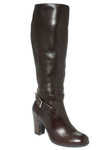 Marc Fisher Kessler Womens Size 7.5 Brown Fashion Knee-High Boots (Marc Fisher Kessler Boots compare prices)