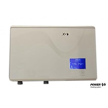 Calentador de agua instantáneo horizontal de 8,8kW, KGT,
