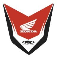 Factory Effex (17-30302 Front Fender - Front Decal Fender
