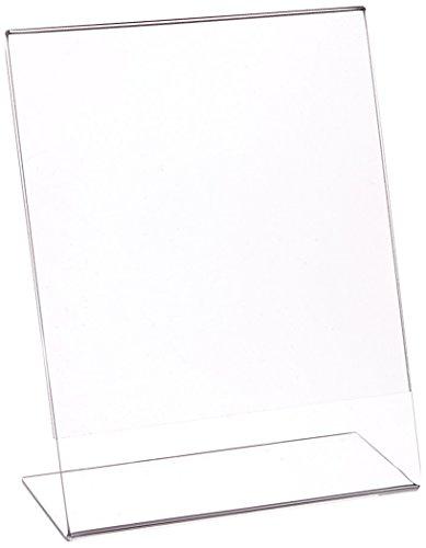 "Azar Displays 112720 5.5"" W x 7"" H Vertical L-Shaped Sign Holder-10pk"