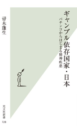 ギャンブル依存国家・日本 パチンコからはじまる精神疾患 (光文社新書)