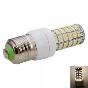 E27 5W 108LED SMD3528 6000K Warm White LED Corn Light (220-240V)