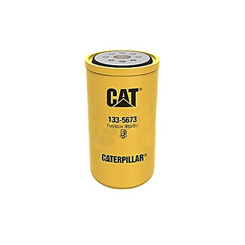 - Caterpillar 1335673 133-5673 FUEL WATER SEPARATOR Advanced High Efficiency