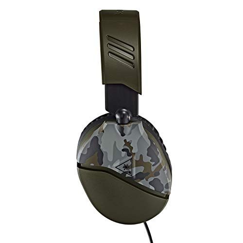 Turtle Beach Recon 70 Green Camo Gaming Headset for PlayStation 4 Pro, PlayStation 4, Xbox One, Nintendo Switch, PC, and Mobile - PlayStation 4