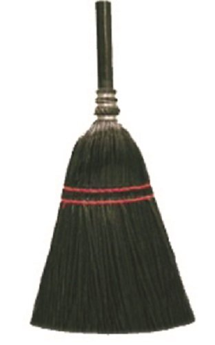 Bristle Lobby Broom - O'Cedar Commercial 6210-6 MaxiRough Lobby Plastic Broom, Black Bristles (Pack of 6)