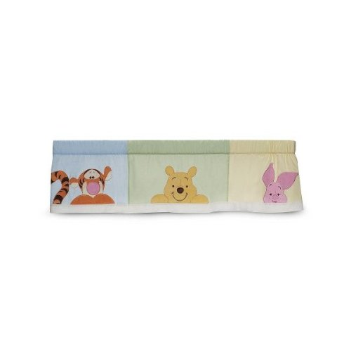Disney Baby Peeking Pooh and Friends Window Valance