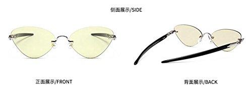 rond lunettes cercle vintage inspirées du métallique de polarisées style soleil retro Lennon en ZAw7rqZ