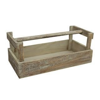 Wooden Potato Collecting Garden Trug by Red Hamper