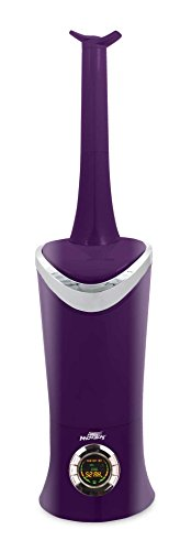 1.7 Gal. Cool Mist Digital Humidifier for Large Rooms, Up to 600 sq. ft., with Remote- Purple by Air Innovations