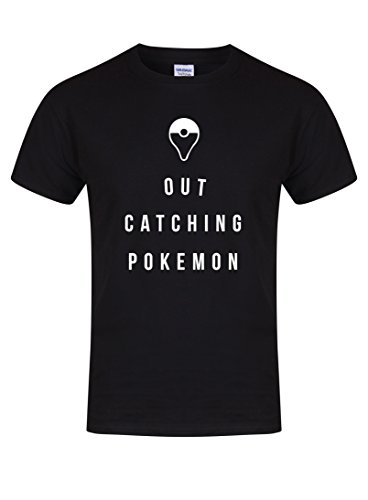 Out Catching Pokemon - Unisex Fit T-Shirt -