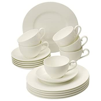 villeroy boch royal white 30 piece dinnerware set service for 6 dinnerware sets. Black Bedroom Furniture Sets. Home Design Ideas