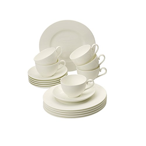 Villeroy & Boch Royal White 30-Piece Dinnerware Set, Service for 6