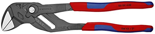 KNIPEX Tools 86 02 250 10-Inch Pliers Wrench Black Finish Comfort - Wrenches Plier 250