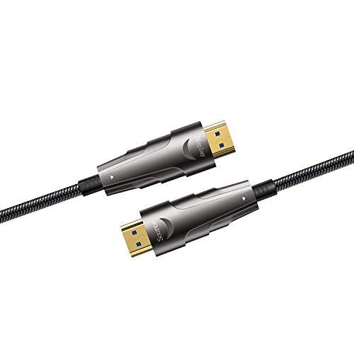 Cable HDMI 2.1 8k de Fibra Optica 100mt SUNTAIHO