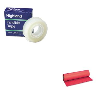KITMMM6200341296PAC101203 - Value Kit - Pacon Decorol Flame Retardant Art Rolls (PAC101203) and Highland Invisible Permanent Mending Tape (MMM6200341296) by Pacon