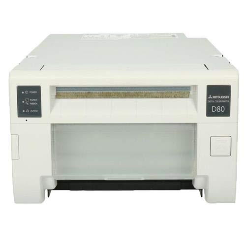 Mitsubishi CP-D80DW Dye Sublimation Thermal Transfer Full Color Photo Printer with Rewind Function, 300 dpi, 2 Print Sizes/1 Media, 6'' Roll by Mitsubishi (Image #1)