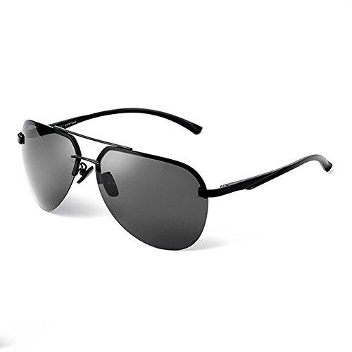 soleil Pilotes Gun Noir foncé de Hipster coloré soleil film vert de Sable Frame soleil Cadre pour MinegRong Verres Retro de miroir hommes de de hommes Lunettes polarisées Grise Noire lunettes Lunettes mode pour Lentille CBgTwTq